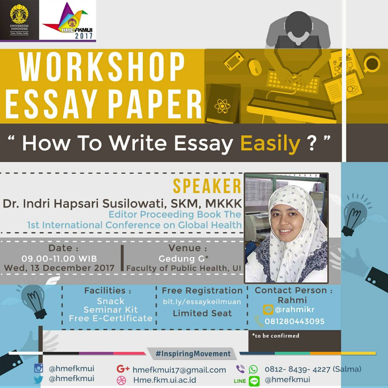 workshop essay workshop safety practices any accident may happen in the workshop while dealing with metal, tools and machines mostly because of sharp metal edges and rotating parts of machines the accident may cause a serious injury that can even.